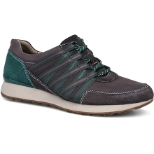 Women's Gabi Charcoal Burnished Nubuck by Dansko in Fort Morgan Co