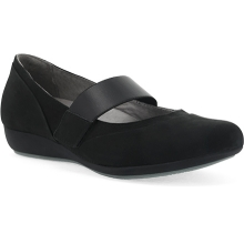 Women's Kendra Black Milled Nubuck