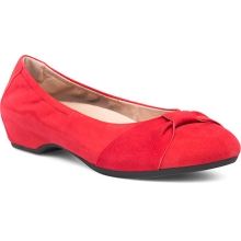 Women's Lina Red Kid Suede