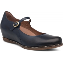 Women's Loralie Navy Burnished Calf