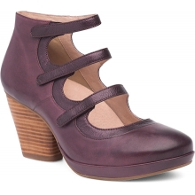 Women's Marlene Wine Burnished Calf