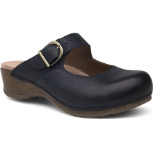 Women's Martina Navy Burnished Nubuck by Dansko in Colorado Springs CO