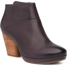 Women's Miley Chocolate Burnished Calf