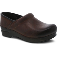 Women's Professional Brown Burnished Nubuck
