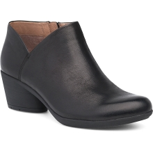 Women's Raina Black Burnished Nubuck by Dansko in Broomfield Co