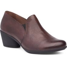 Women's Robin Chocolate Burnished Calf by Dansko in Mason City IA