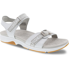 Angie White Crackle Leather by Dansko