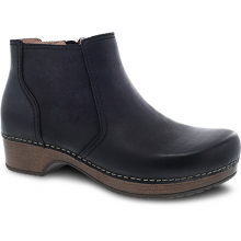 Barbara Black Burnished Nubuck by Dansko in St Joseph MO