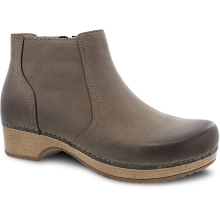 Barbara Taupe Burnished Nubuck