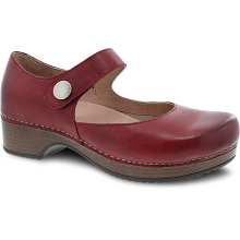 Beatrice Red Waxy Burnished