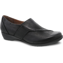 Fae Black Burnished Nubuck by Dansko in Farmington NM