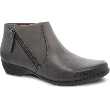 Fifi Grey Burnished Nubuck