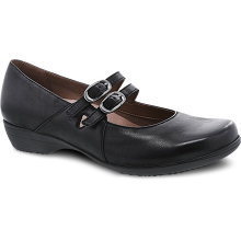 Fynn Black Burnished Nubuck by Dansko