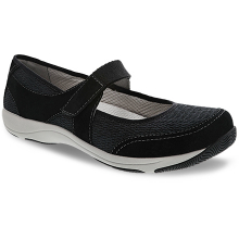 Hennie Black Suede by Dansko in West Des Moines IA