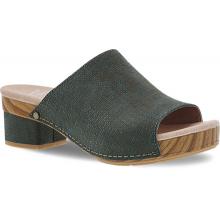 Maci Teal Textured Leather