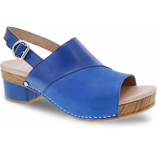 Madalyn Cobalt Burnished Calf