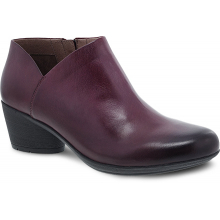 Raina Wine Burnished Nubuck by Dansko