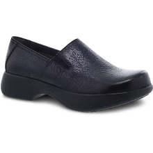 Winona Black Tooled Leather by Dansko