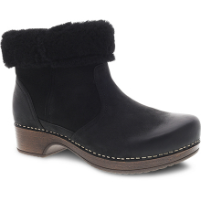 Bettie Black Burnished Nubuck