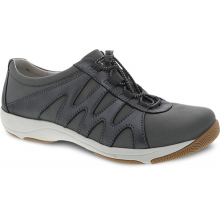 Harlie Charcoal Metallic Suede