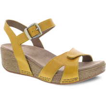 Laurie Yellow Burnished Calf by Dansko
