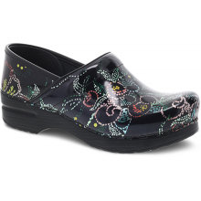 Professional Dotted Floral Patent by Dansko