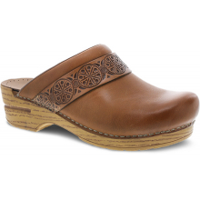 Saundra Tan Waxy Burnished by Dansko