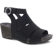 Sera Black Milled Nubuck by Dansko