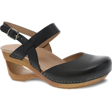 Taci Black Waxy Calf
