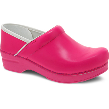 Professional Pink Neon Leather by Dansko
