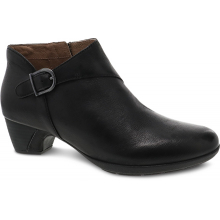 Darbie Black Burnished Nubuck