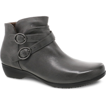 Faithe Grey Burnished Nubuck