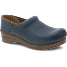 Professional Blue Burnished Nubuck by Dansko in St Joseph MO