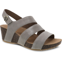 Stacey Taupe Glazed Suede by Dansko