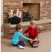 Hearth Foam Cushion (Gray) by Kidco