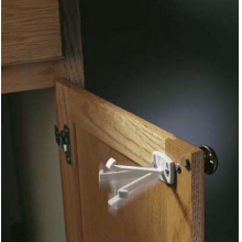 Swivel Cabinet & Drawer Locks - 4/pkg