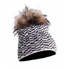 Women's Teagon Hat Real Fur by Descente
