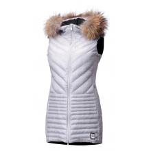 Women's Harper Vest Real Fur