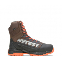 "Men's Footrests 2.0 Charge Waterproof Nano Toe 8"" Hiker by HYTEST"