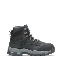 "Men's Nickel Metatarsal Guard Steel Toe 6"" Work Boot by HYTEST"