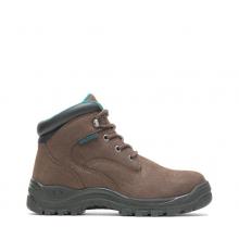 "Women's Amber Direct Attach Waterproof Steel Toe 6"" Work Boot by HYTEST"