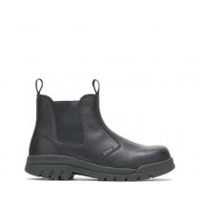 """Men's Zinc Steel Toe 6"""" Slip On Work Boot by HYTEST"""