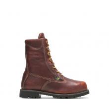 "Men's Axel USA Metatarsal Guard Steel Toe 8"" Work Boot by HYTEST"