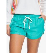 Women's New Impossible Love Elastic Waist Non-Denim Shorts by Roxy Footwear in Chelan WA