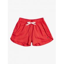 Girl's Una Mattina Elastic Waist Non-Denim Shorts by Roxy Footwear in Chelan WA
