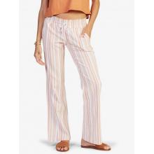 Women's Oceanside Pant Yd Elastic Waist Non-Denim Pants by Roxy Footwear in Chelan WA