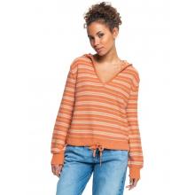 Women's Turning Out Stripe V-Neck Sweater by Roxy Footwear in Chelan WA