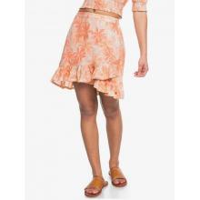 Women's Face To Love Smocked Woven Skirt by Roxy Footwear in Chelan WA