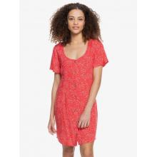 Women's All Eyes On Love Short Sleeve Dress by Roxy Footwear