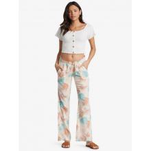Women's Oceanside Pant Printed Elastic Waist Non-Denim Pants by Roxy Footwear in Chelan WA